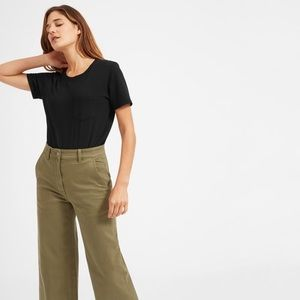 euc everlane boxy crop